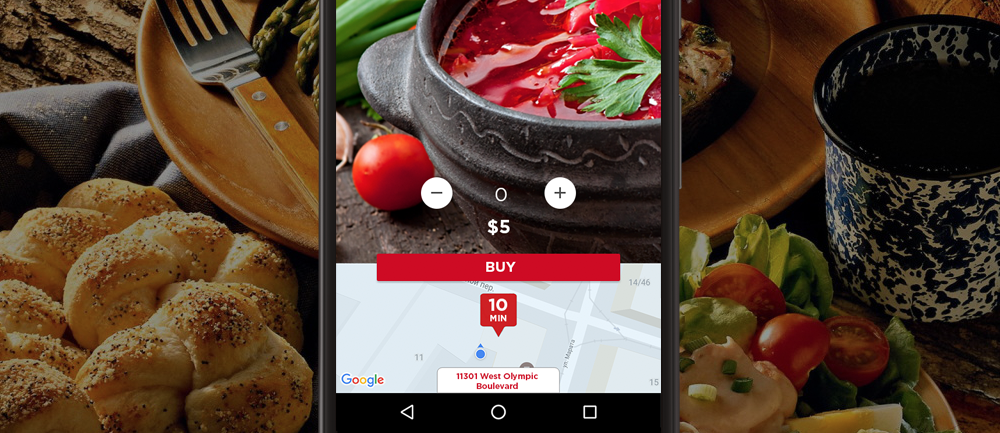 Food delivery plafform with iOS and Android apps
