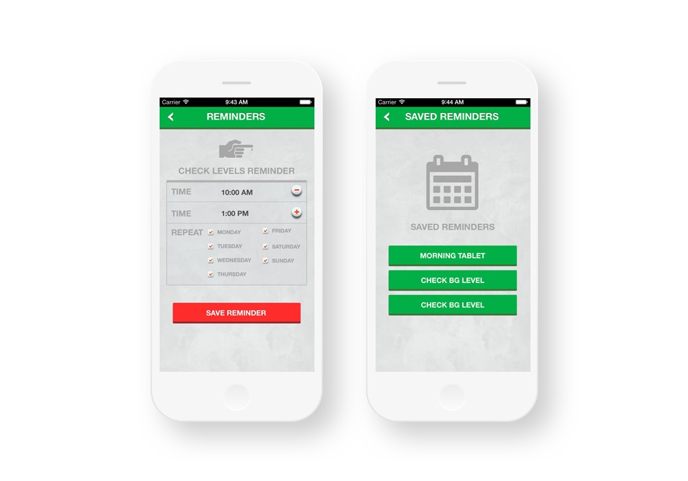 Design of Magora's healthcare app