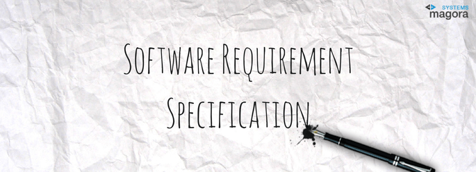 software requirement specification Software requirements specification is a document that specifies what a software is supposed to do, how it is supposed to function, who its intended audience is.