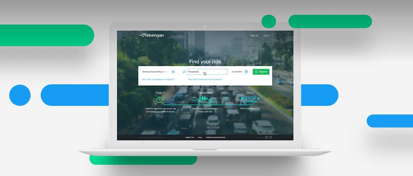 Magora IT company project: Tebengan