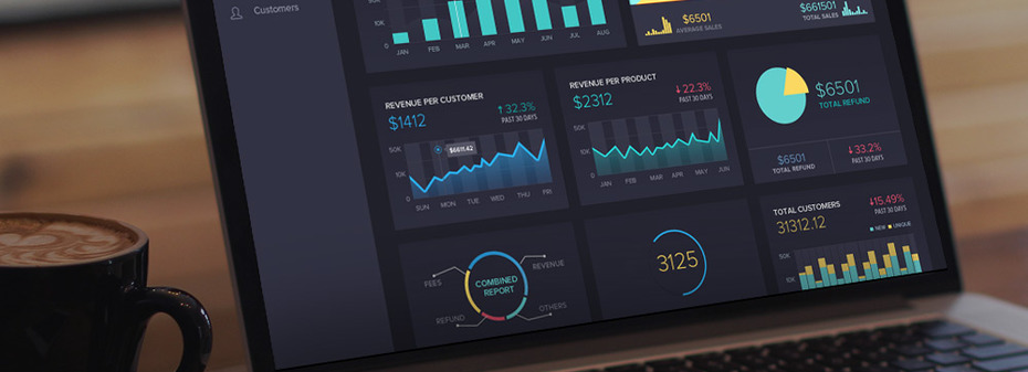 UI design for professional software