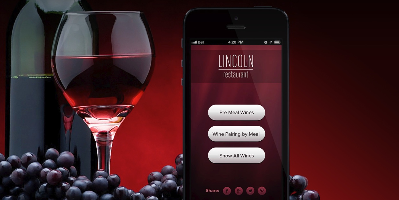 Wine advising mobile app development