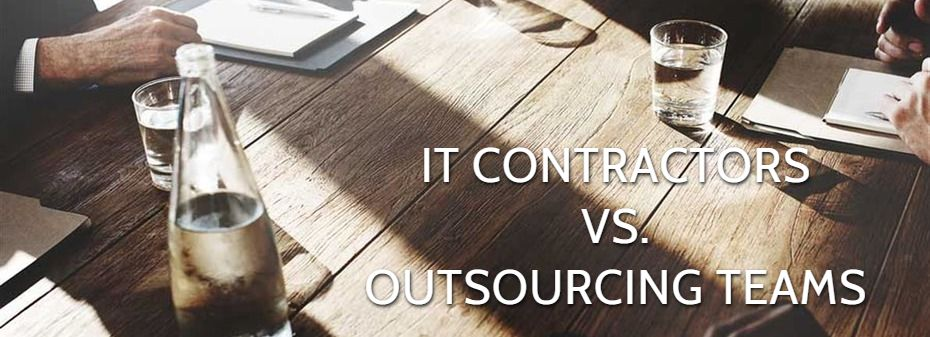 contractors vs outsourcing developers