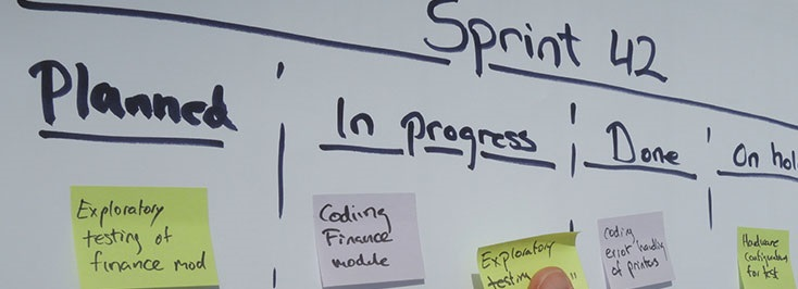How can Scrum development help to create software according to the deadlines