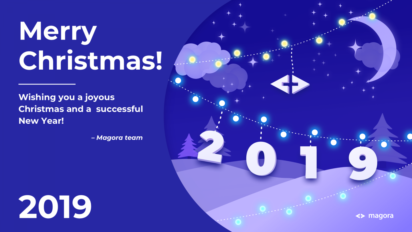 Magora X-mas greetings for the 2019