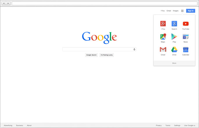 Evolution of Google 2015
