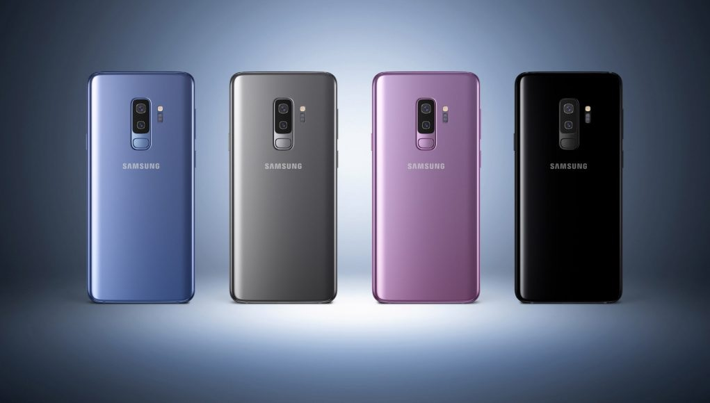 The Galaxy S9 and S9 + were presented in four colours: Midnight Black, Titanium Grey, Lilac Purple and Coral Blue.