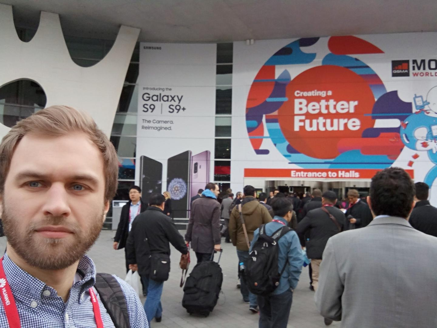 Pavel at MWC 2018