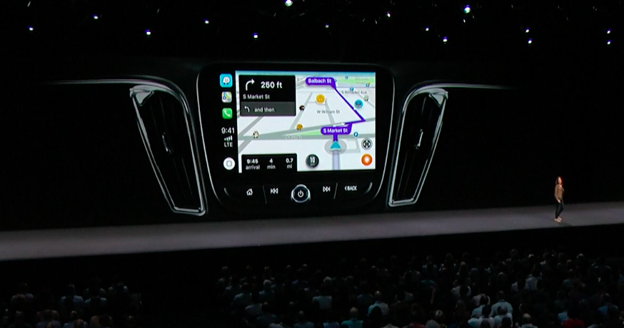 CarPlay for Navigation Apps