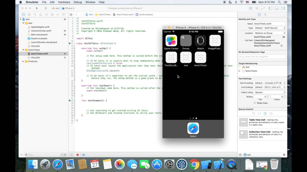 Swift 5 and Xcode 10