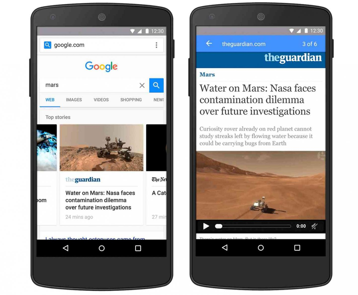who to create accelerated mobile pages