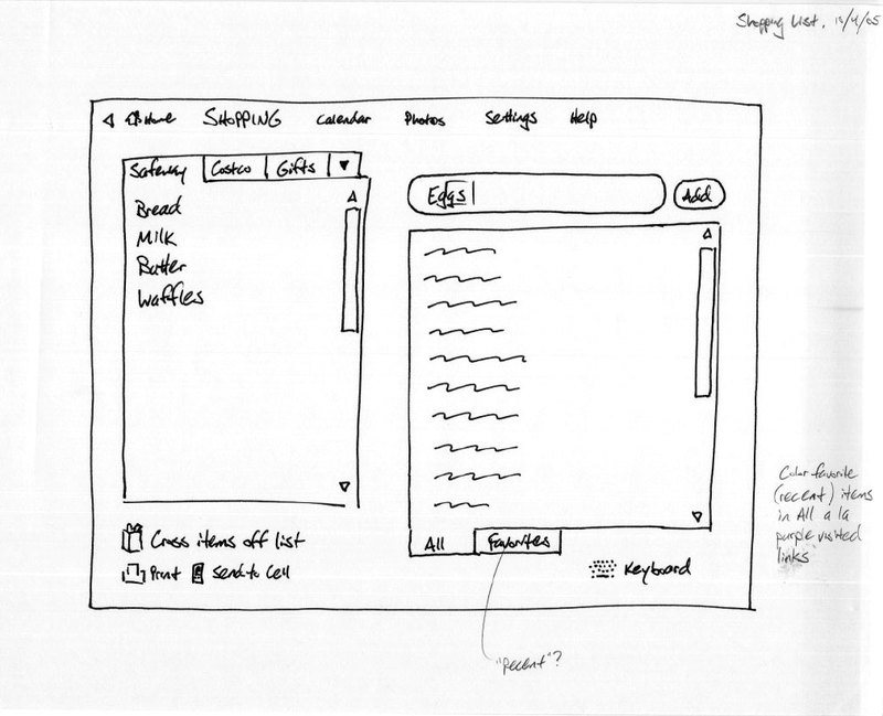 sketch app development