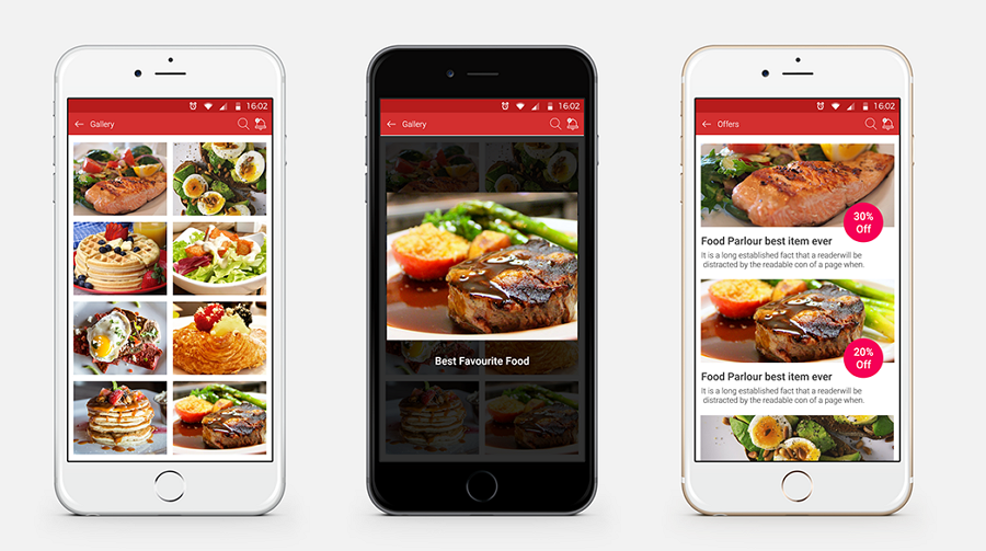 food n drink kitchen stories app interface