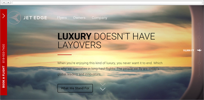 Parallax scrolling is a fresh web trend